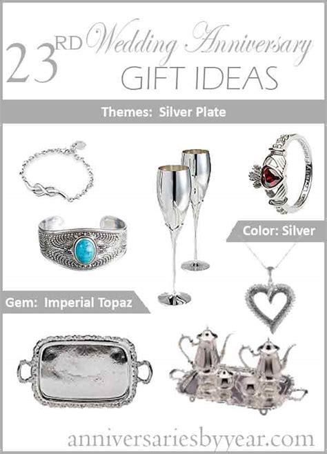 23rd Anniversary   Twentythird Wedding Anniversary Gift Ideas
