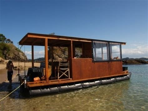 build your own house boat build your own pontoon houseboat and escape to open waters