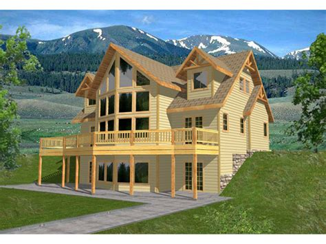 fostermill mountain home plan 088d 0242 house plans and more