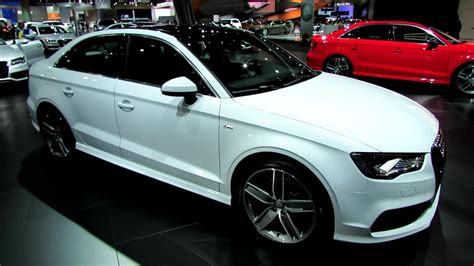 Audi A3 Sline Interior by 2015 Audi A3 S Line Sedan Exterior And Interior