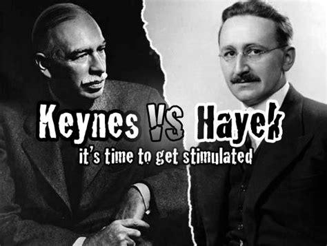 philosophy politics economics friedrich august von hayek vs john maynard keynes