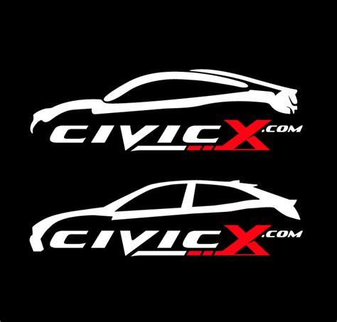 Honda Civic Stickers