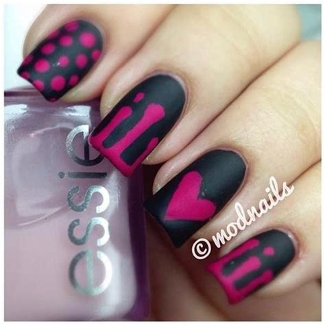 easy nail art black and pink fascinating pink nail art design which will dazzle you for