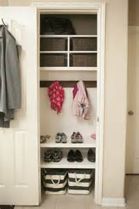 Entry Coat Closet by Hometalk Organizing Coat Closet Mini Mudroom