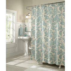 walmart bird shower curtain m style birds of a feather shower curtain bath walmart com