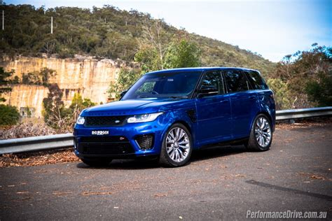 range rover svr 2016 range rover sport svr review video performancedrive