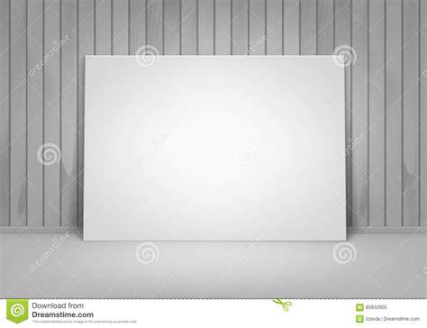 sta foto con cornice cornice in bianco vuota manifesto di vettore