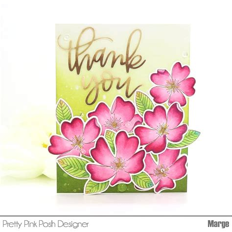 for colored script thank you script die from pretty pink posh