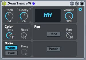 drum dial tutorial ableton live tutorial humanising hi hat grooves with max