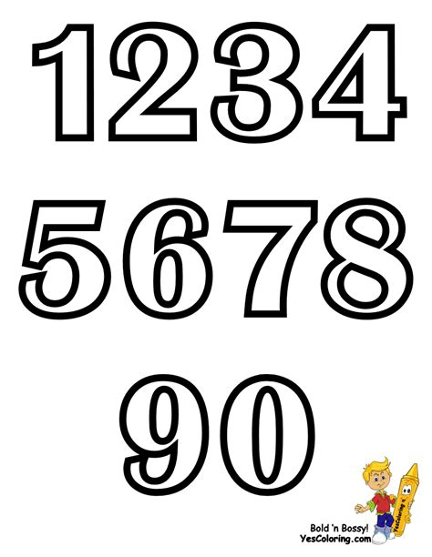 printable coloring pages numbers 1 20 number chart 1 20 colouring pages