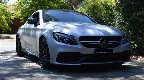 mercedes canberra supreme vinyl c63s coupe amg paint protection canberra
