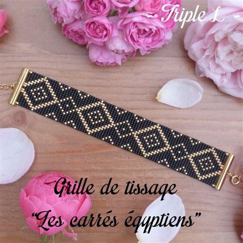 Modèle Bracelet Perles Métier Tisser