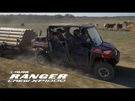 used 2019 polaris ranger crew xp 1000 eps northstar hvac
