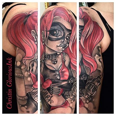 quin mat a alex 8416224544 18 harley quinn tattoos to wait before squad tattoodo