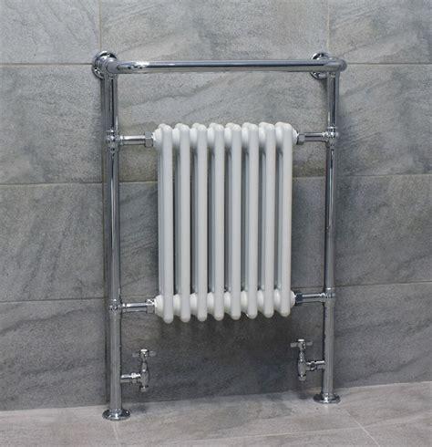 classic traditional victorian heated towel rail bathroom