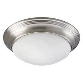 Dome Ceiling Light Progress Lighting Brushed Nickel 3 Light 60w Alabaster Glass Dome Ceiling Fixture