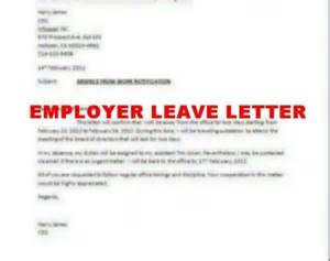 how to write employer leave letter books literature