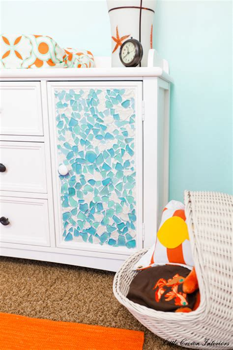 sea glass decor design pictures remodel decor and ideas beach theme boys nursery interior design project reveal