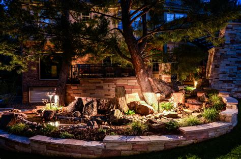 Landscape Lighting Denver Landscape Lighting Denver Denver Outdoor Lighting Landscape Connection Denver Outdoor