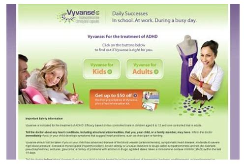 vyvanse coupon code 2018