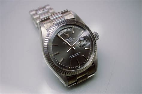 Rolex 152 Silver White sold rolex 1803 white gold president grafitto gray omega forums