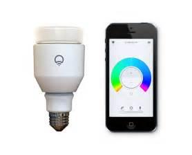 lifx light bulb shines bright on kickstarter
