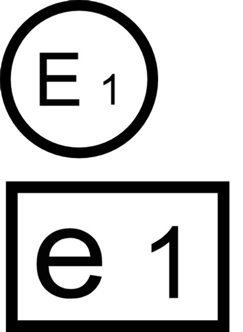 E Pr Fzeichen Motorrad Scheinwerfer by Und Noch Ein Zeichen Das E Oder Auch Ece Pr 252 Fzeichen