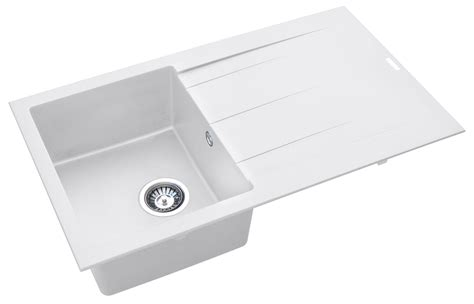 white composite kitchen sinks composite kitchen sinks by pyramis