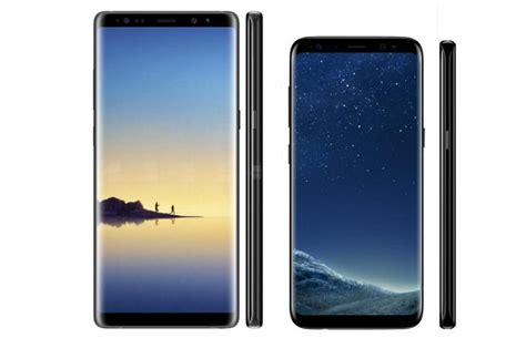Samsung S8 Note 8 galaxy note 8 vs galaxy s8 what s the difference