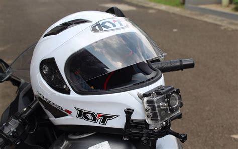 Tempat Bedak Helm Diskon chin mount helm tempat bagi para motorvlogger tokokomputer007