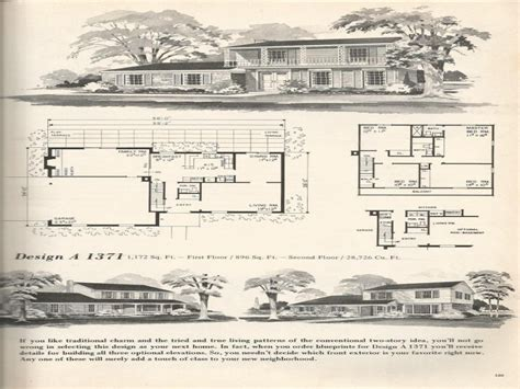 split level ranch house plans split level house plans vintage split level ranch house