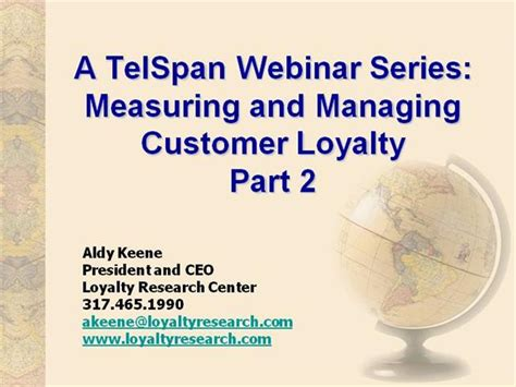 and loyalty 2 series customer loyalty authorstream