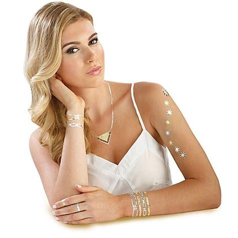 hot jewel tattoo hot jewels metallic temporary tattoos in classic design