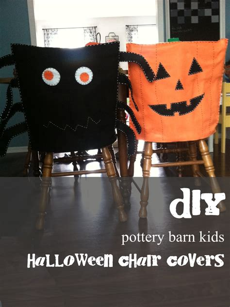 diy pottery barn inspired chair covers