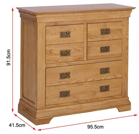 solid oak 4 2 chest of drawers farmhouse bedroom