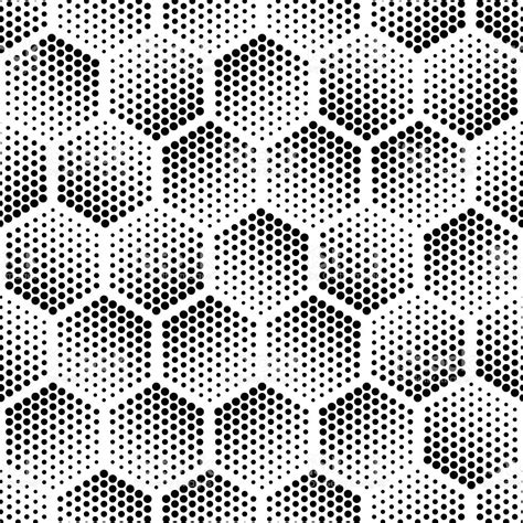 seamless halftone pattern vector halftone seamless pattern stock vector art