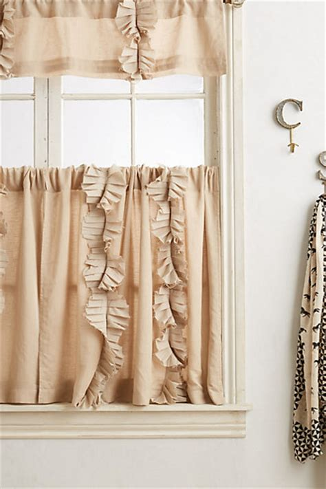 anthropologie flutter curtains curtains striped ruffled bohemian more anthropologie