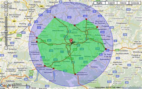 map radius tool driving radius map my