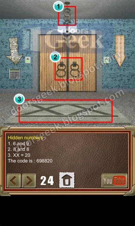 doors of revenge level 15 solution 100 doors of revenge level 24 doors geek