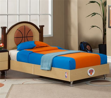 basketball toddler bed dreamfurniture com nba basketball new york knicks twin bed