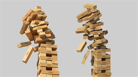 Or Jenga Jenga Classic 3d Model By Potenzaglobalsolutions 3docean