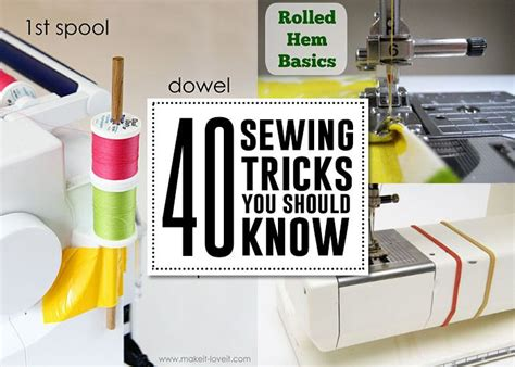 sewing pattern hacks 40 sewing hack tips tricks that you should know