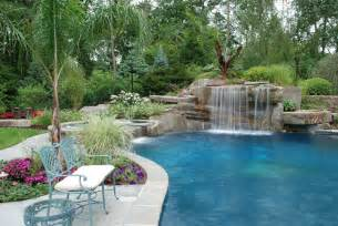 pool designs with waterfalls best and useful swimming pool designs for your house