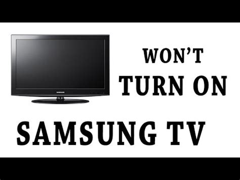 how to reset vizio tv that wont turn on no power or red light clicking lcd plasma tv power supp