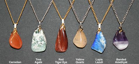 stones to make jewelry how to make a polished pendant necklace