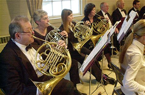 french horn section photographs from the orchestra s 2003 2004 season