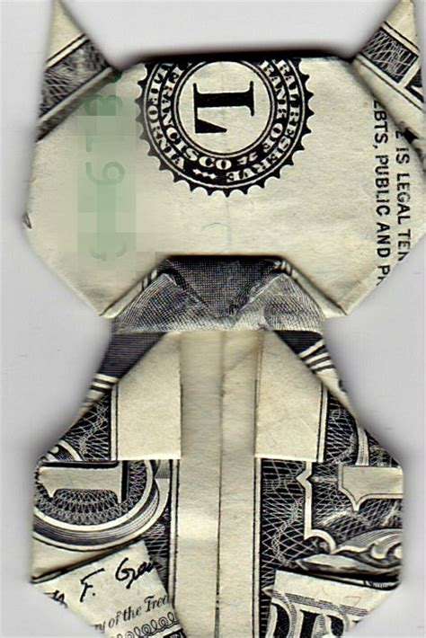 origami money cat origami money cat jo nakashima by iamboredalready on