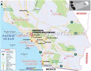 universal studios california map facts