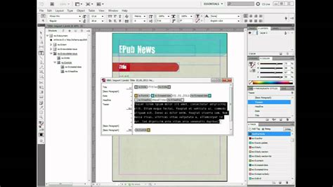 indesign tutorial xml import how to import xml into indesign clean hd youtube