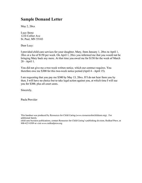 Demand Letter Pdf Best Photos Of Copy Of A Demand Letter Demand Letter Sle Demand Letter Template And Demand